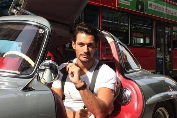 Hot Men: David Gandy