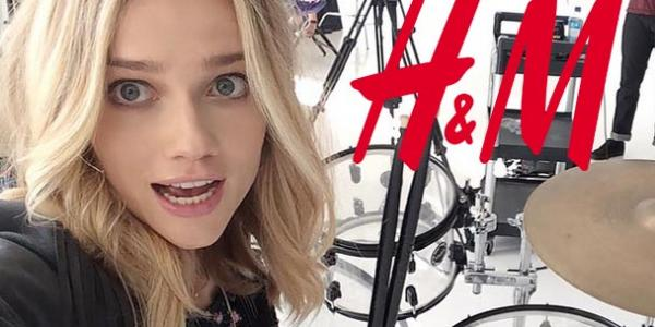 H&M LOVES MUSIC AND FLORRIE!