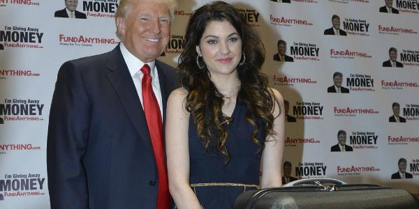 DONALD TRUMP PODPORIL CELESTE BUCKINGHAM!