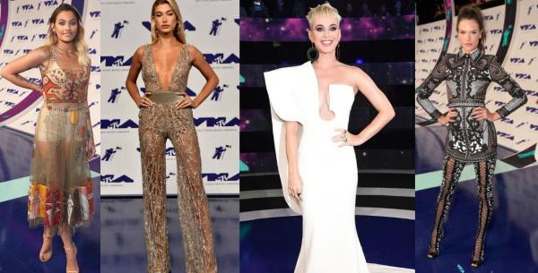 TOP outfity z VMA´s 2017